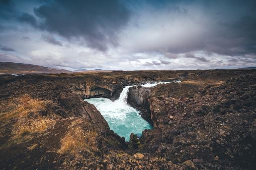 Basalt「Aldeyjarfoss In Iceland」:スマホ壁紙(6)