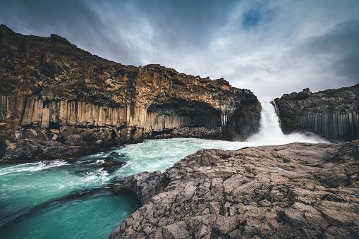 Basalt「Aldeyjarfoss In Iceland」:スマホ壁紙(7)