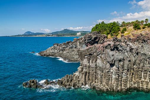 Jeju Island「Jusangjeollidae Rocks Jeju Island」:スマホ壁紙(9)