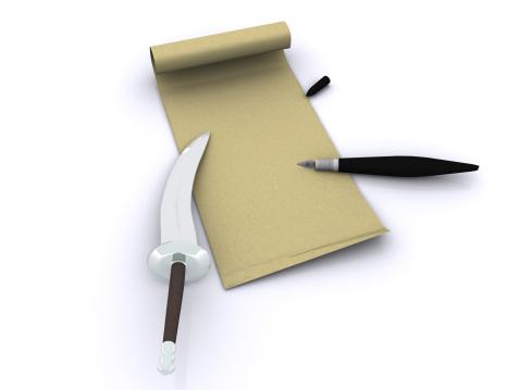 Manuscript「letter. 3d」:スマホ壁紙(0)