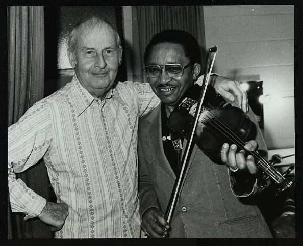 Violinist「Stephane Grappelli and Claude 'Fiddler' Williams at the Forum Theatre, Hertfordshire, 1980. Artist: Denis Williams」:写真・画像(19)[壁紙.com]