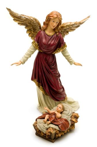 Spirituality「Archangel Gabriel and Baby Jesus」:スマホ壁紙(19)