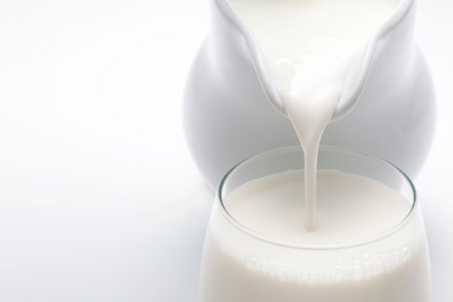 Cream - Dairy Product「Pouring Milk」:スマホ壁紙(1)