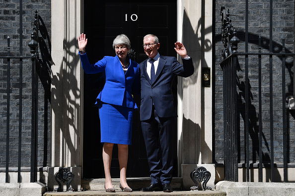 Vitality「British Prime Minister Theresa May Makes A Final Statement In Downing Street」:写真・画像(5)[壁紙.com]