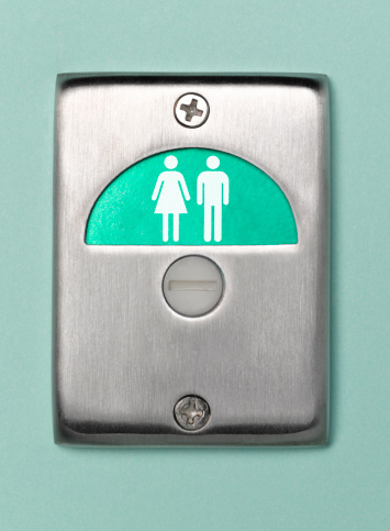 Convenience「Toilet door sign male and female vacant」:スマホ壁紙(4)