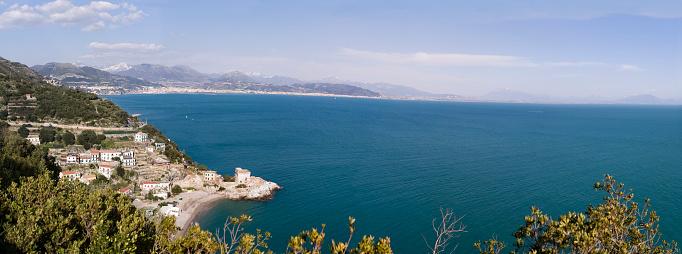 アマルフィ海岸「Erchie (小さな町でアマルフィ海岸、イタリア)」:スマホ壁紙(16)