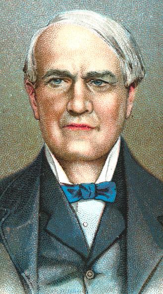 Light Bulb「Thomas Alva Edison, American inventor, 1924.」:写真・画像(19)[壁紙.com]