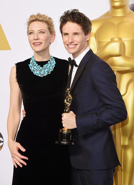 Best actor award「87th Annual Academy Awards - Press Room」:写真・画像(17)[壁紙.com]