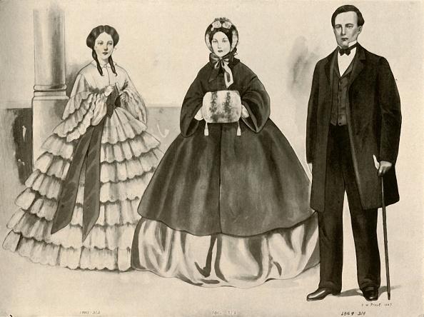 Bonnet「Clothing From 1860-1870」:写真・画像(13)[壁紙.com]