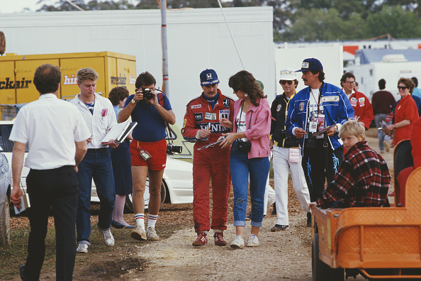 レーシングドライバー「Mansell At Australian Grand Prix」:写真・画像(19)[壁紙.com]