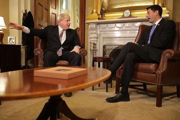Politician「UK Foreign Secretary Boris Johnson Meets With Congressional Leaders On Capitol Hill」:写真・画像(1)[壁紙.com]
