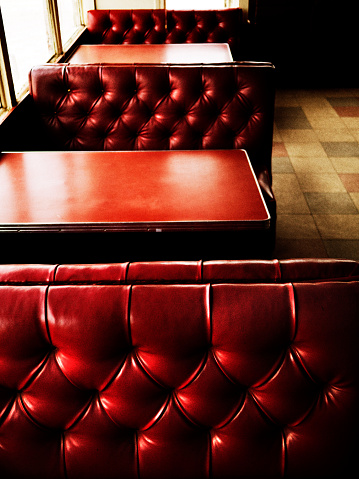 Animal Skin「Red Restaurant Booths And Tables」:スマホ壁紙(19)