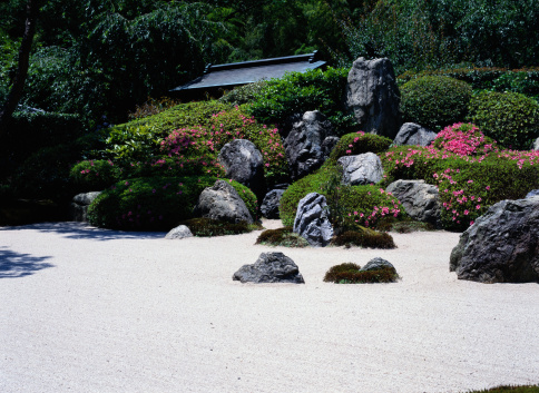 Japanese Garden「Rock Garden in Kamakura, Japan」:スマホ壁紙(5)