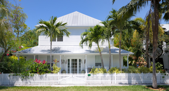 Fence「townhouse in Key West Florida USA」:スマホ壁紙(19)