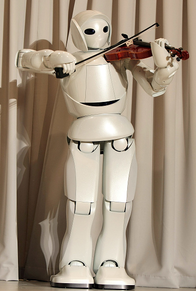 Violin「Toyota Launches New Robot Technology」:写真・画像(6)[壁紙.com]