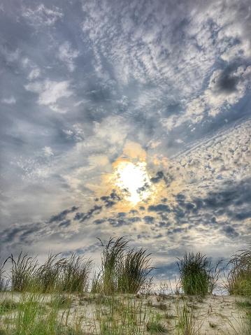 ビーチ「Sunrise Bethany Beach, Delaware」:スマホ壁紙(11)
