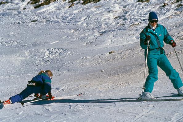 Ski Slope「Princess Anne And Zara Phillips」:写真・画像(4)[壁紙.com]