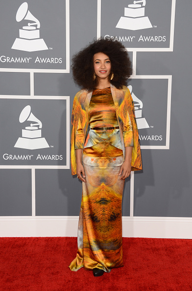 Yellow Dress「The 55th Annual GRAMMY Awards - Arrivals」:写真・画像(12)[壁紙.com]