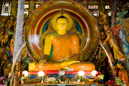 Sri Lanka「Gangaramaya Temple Colombo Sri Lanka」:スマホ壁紙(6)