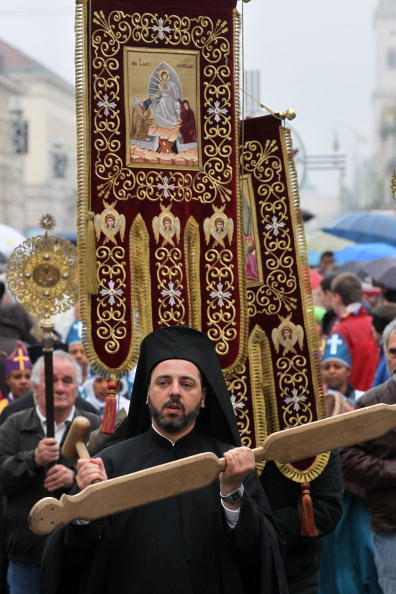Religious Mass「Thousands Meet For  2nd Ecumenical Kirchentag」:写真・画像(5)[壁紙.com]