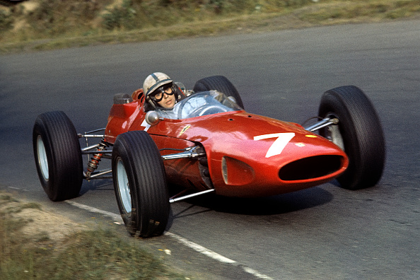 Ferrari「John Surtees, Grand Prix Of Germany」:写真・画像(4)[壁紙.com]