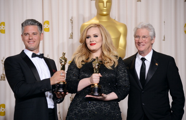 Adele - Singer「85th Annual Academy Awards - Press Room」:写真・画像(13)[壁紙.com]