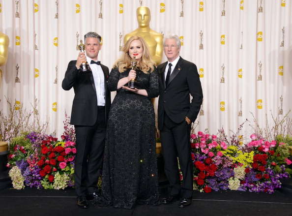 Adele - Singer「85th Annual Academy Awards - Press Room」:写真・画像(8)[壁紙.com]