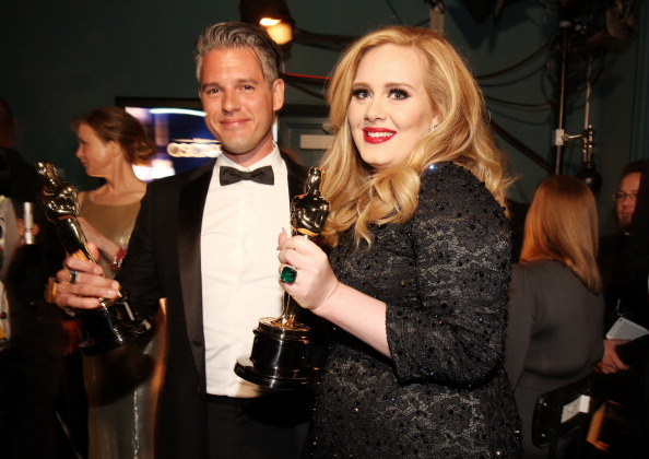 Adele - Singer「85th Annual Academy Awards - Backstage」:写真・画像(6)[壁紙.com]