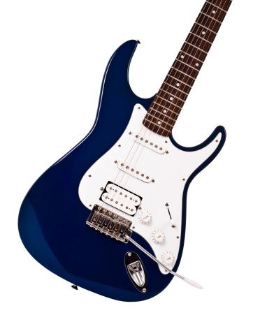 Electric Guitar「blue electric guitar closeup」:スマホ壁紙(2)