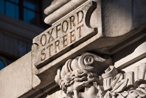 Oxford Street「'Oxford Street' road sign in stone」:スマホ壁紙(12)