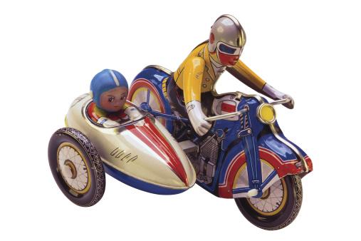 Passenger「Antique toy motorcycle」:スマホ壁紙(4)