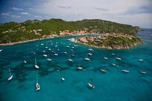 St「Sailboats Anchored in St. Barth's」:スマホ壁紙(13)