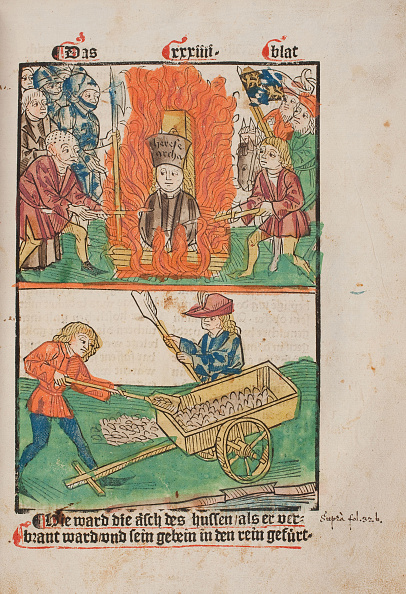 Wooden Post「Jan Hus Burned At The Stake」:写真・画像(16)[壁紙.com]