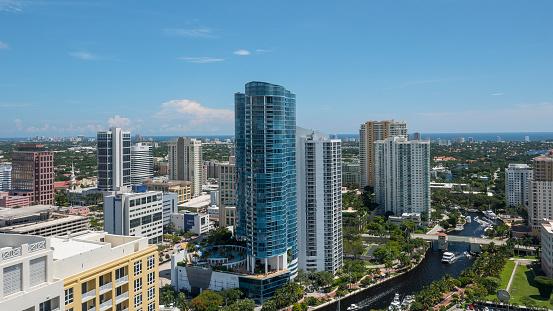 Fort Lauderdale「Cityscape, Fort Lauderdale, Florida, America, USA」:スマホ壁紙(19)