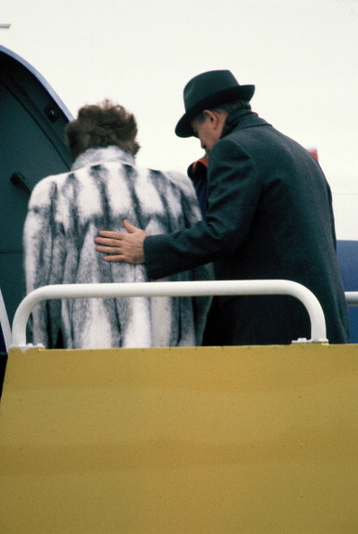 Heathrow Airport「Mikhail Gorbachev In UK」:写真・画像(7)[壁紙.com]