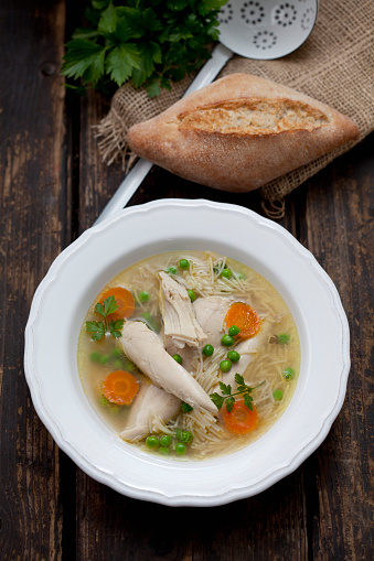 Bun - Bread「Dish of chicken soup」:スマホ壁紙(16)