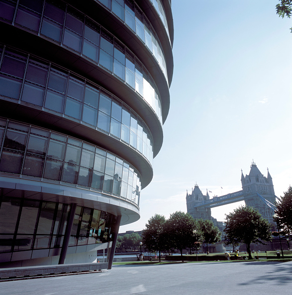 2002「City Hall, Greater London Authority, GLA Building, by Tower Bridge, South Bank, Southwark, London, United Kingdom. Architects Norman Foster and Partners. Engineers Arup.」:写真・画像(14)[壁紙.com]