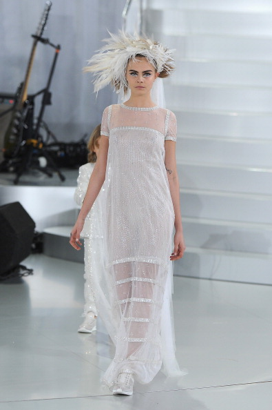 Gray Shoe「Chanel : Runway - Paris Fashion Week - Haute Couture S/S 2014」:写真・画像(19)[壁紙.com]