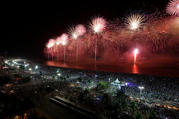 New Year「Rio de Janeiro Rings In The New Year」:写真・画像(11)[壁紙.com]