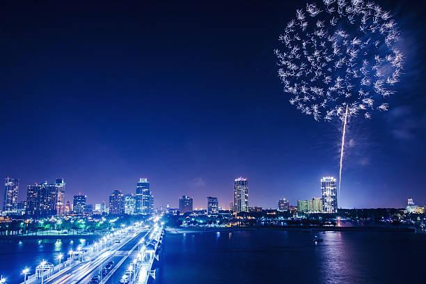 花火が作る夜景のまとめ:2013年06月05日(壁紙.com)