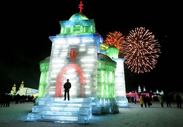 Annual Ice Festival Opens In Harbin:ニュース(壁紙.com)