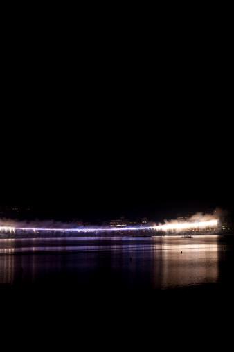 Lake Kawaguchiko「Fireworks at Waterfront」:スマホ壁紙(18)