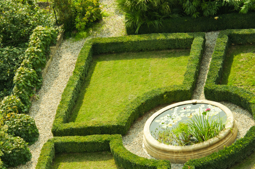 Ornamental Garden「knot garden with pool」:スマホ壁紙(8)