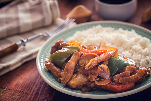 Kung Pao「Spicy Kung Pao Chicken with Rice」:スマホ壁紙(9)