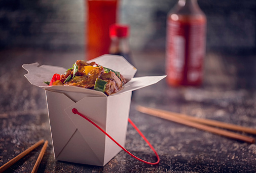 Kung Pao Chicken「Spicy Kung Pao Chicken Take Out Food」:スマホ壁紙(3)