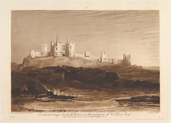 Etching「Dunstanborough Castle (Liber Studiorum」:写真・画像(8)[壁紙.com]