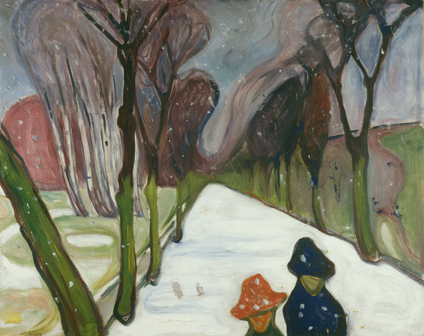 Avenue「New Snow In The Avenue Artist: Munch」:写真・画像(2)[壁紙.com]