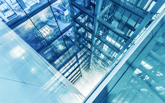 Aisle「Modern multistory office building」:スマホ壁紙(17)