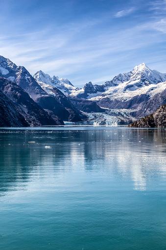 Glacier Bay National Park「Alaska's Glacier Bay NP: Johns Hopkins Glacier, Summer」:スマホ壁紙(6)