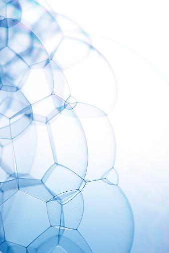 虹「Bubbles with spectrum, close-up」:スマホ壁紙(2)